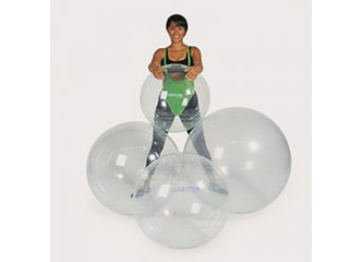 Opti-Ball Gymnastikball Transparent