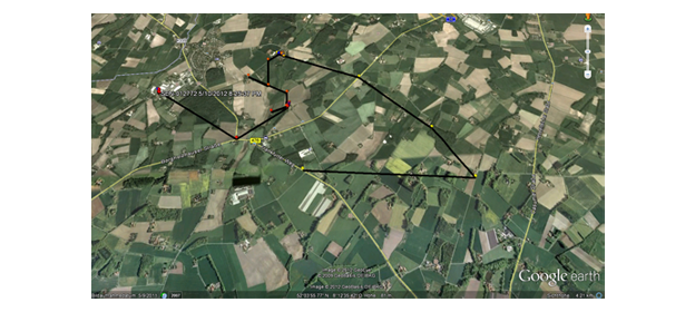 Konstante Ortung GPS-Track SeniorPro